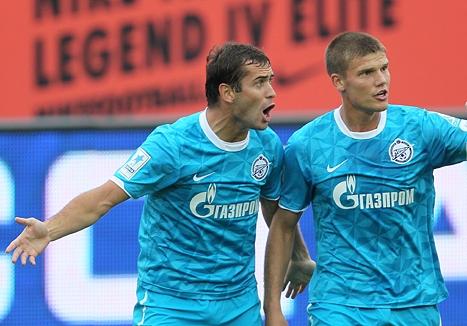 Денисов и Кержаков в дубле