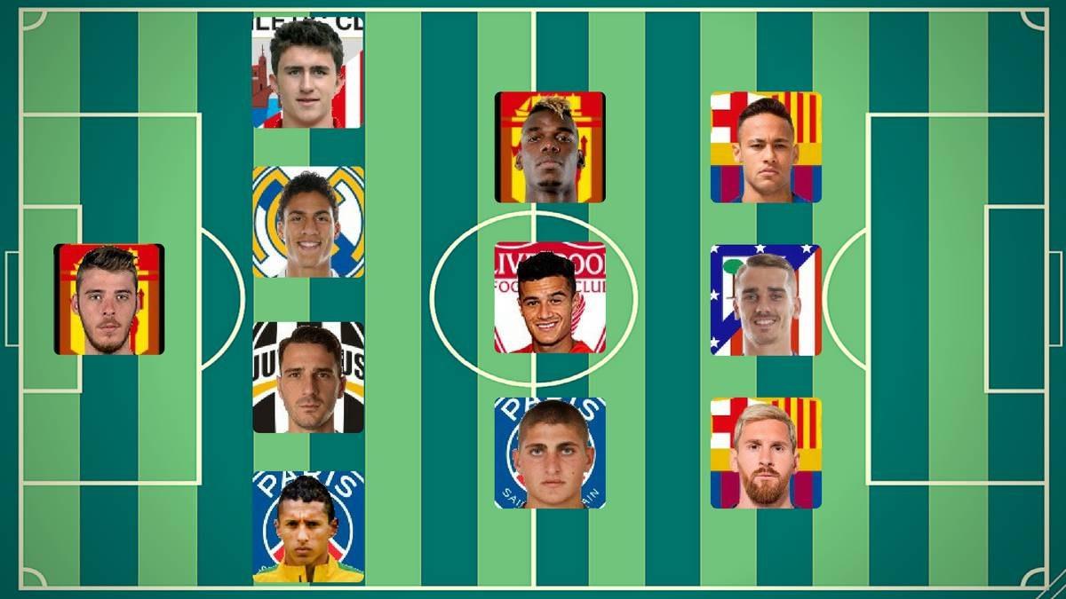 Картинки по запросу Без Роналду. Как выглядит команда самых дорогих футболистов мира