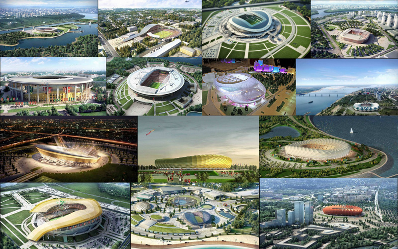 Проект стадиона к чемпионату мира по футболу 2018 года