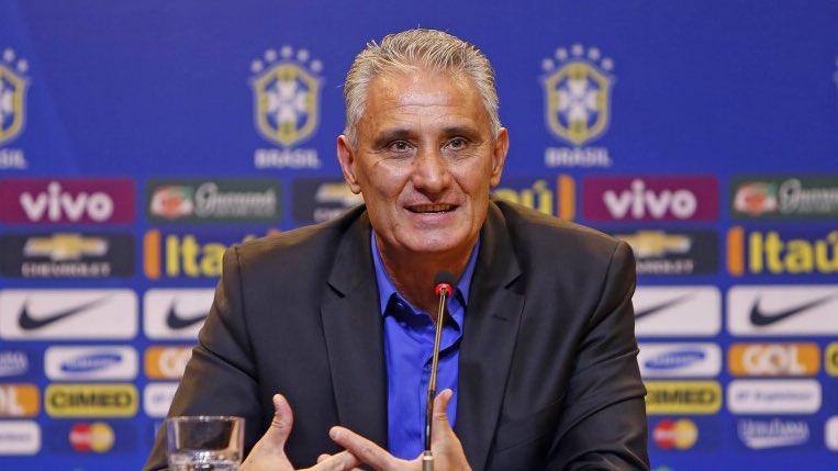 """Tite Braziliya termasiga """"Barcelona"""" futbolchisi sardor bo'lishini aytdi"""