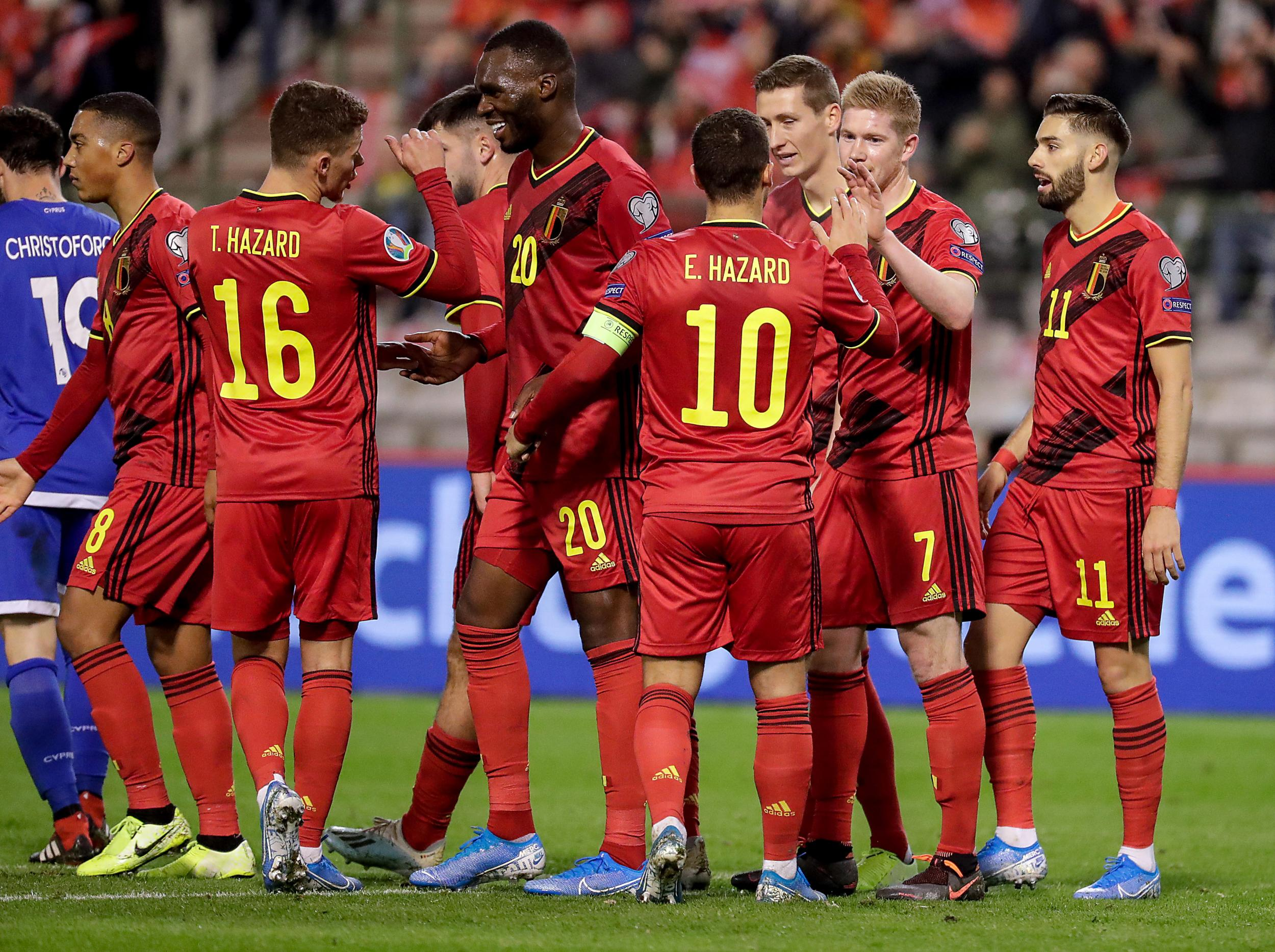 Сборная Бельгии по футболу