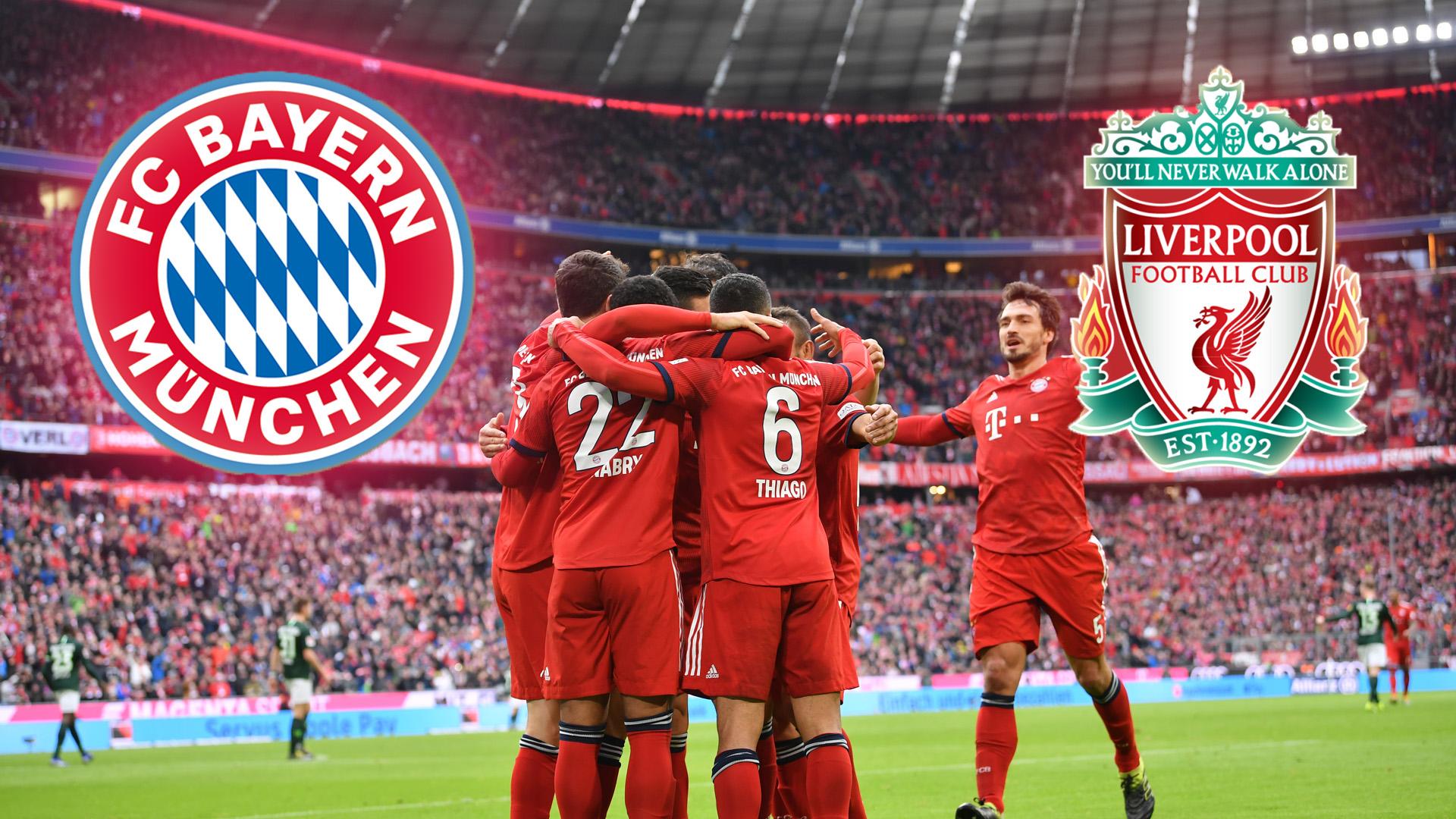 Анонс и прогноз матча «Бавария» Мюнхен - «Ливерпуль»