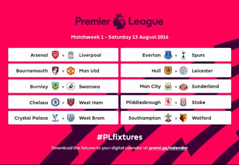Футбол испанская премьер лига 2016 2017 расписание