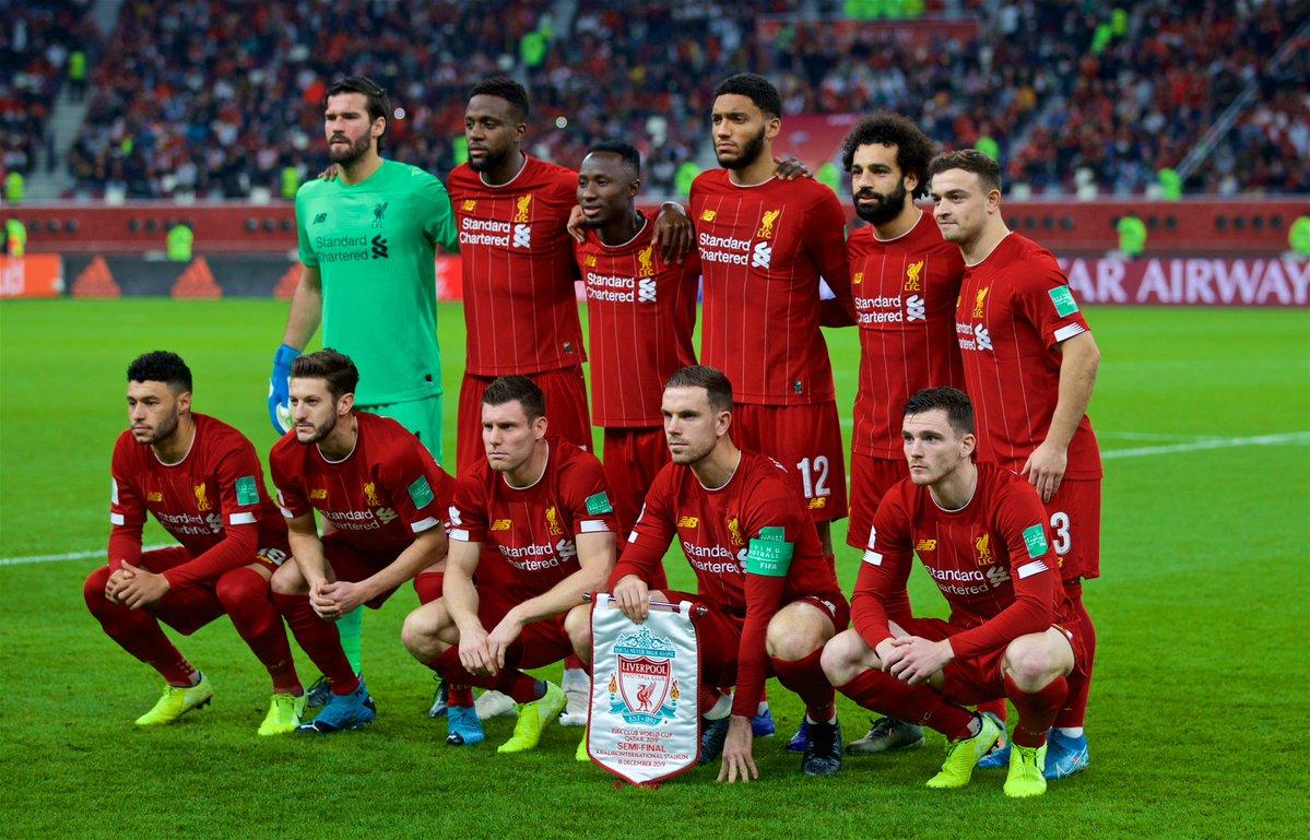 Основной состав клуба эвертон