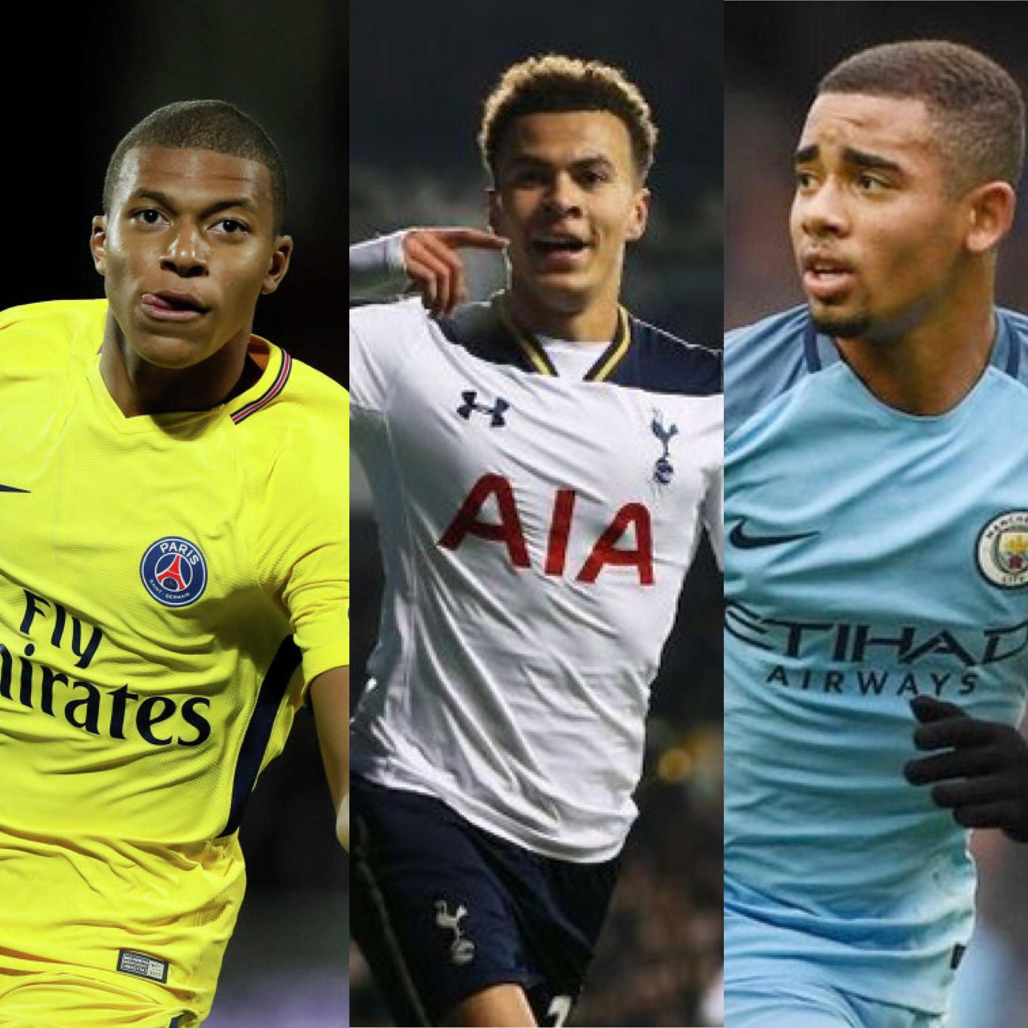 Лучшие молодые футболисты испании