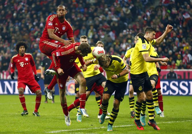 Бавария мюнхен боруссия дортмунд 0- 3