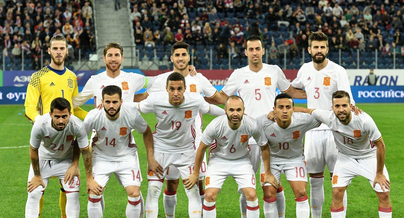 Состав футбольной сборной испании