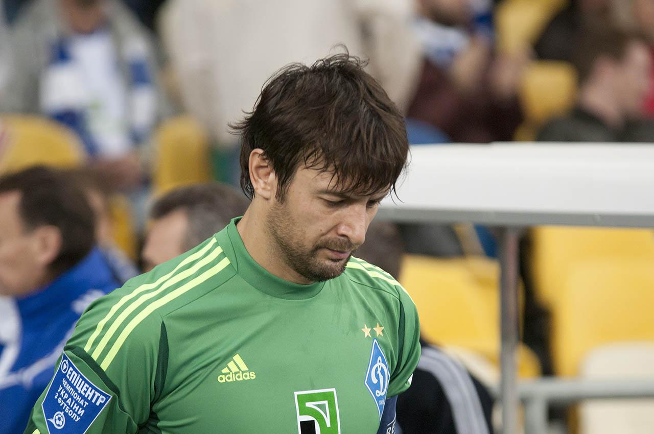 Шовковский стал вторым самым возрастным игроком Лиги чемпионов