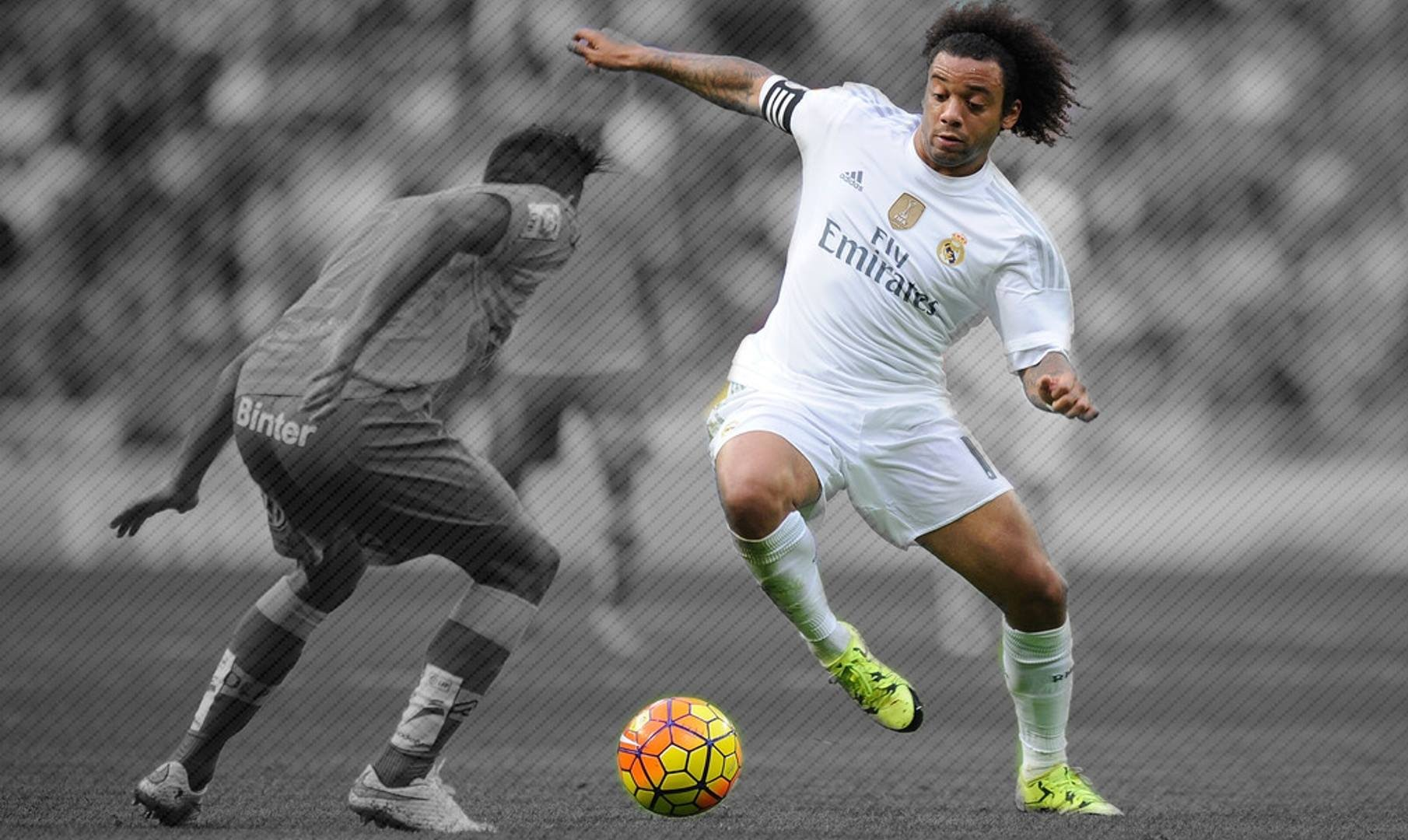 Marcelo real madrid 2015