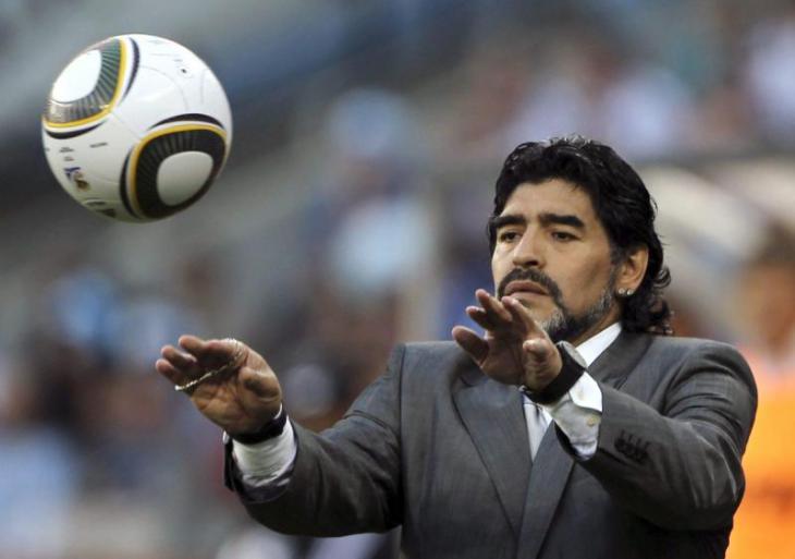 Марадона может возглавить клуб изБреста
