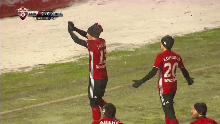 Амкар - Оренбург 3:0 xG xPoints Russian Football Premier-League