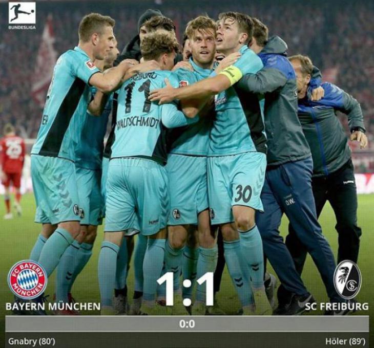Обзор и голы матча Бавария - Фрайбург 1:1 Бавария при Коваче скандалы в Баварии