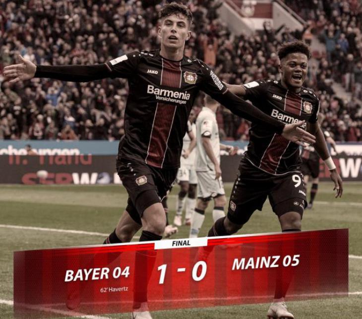 Обзор, голы, лучшие моменты и подробный обзор матча Байер - Майнц 1:0 Бундеслига 4 тур