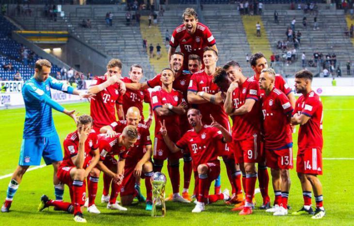 Краткая история футбольного клуба бавария