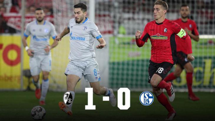 Фрайбург - Шальке 1:0 гол, лучшие моменты и статистика 5 тура Бундеслиги почему плохо играет Коноплянка где играет Коноплянка Коноплянка в Шальке