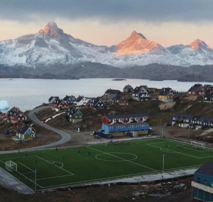 Футбол в Гренландии