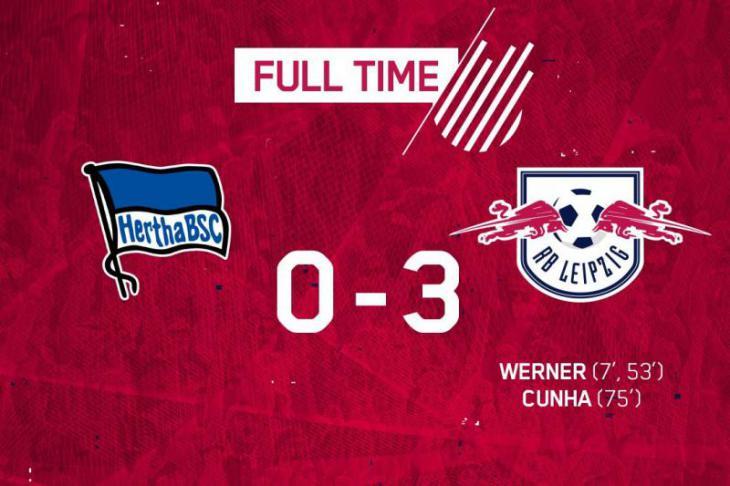 Герта - РБ Лейпциг 0:3 обзор, лучшие моменты и голы матча 10 тура Бундеслиги голы Тимо Вернера; Вернер перейдёт в Баварию?