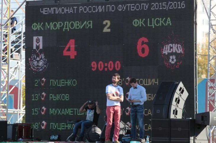 Мордовия - ЦСКА 4:6 xG xPoints