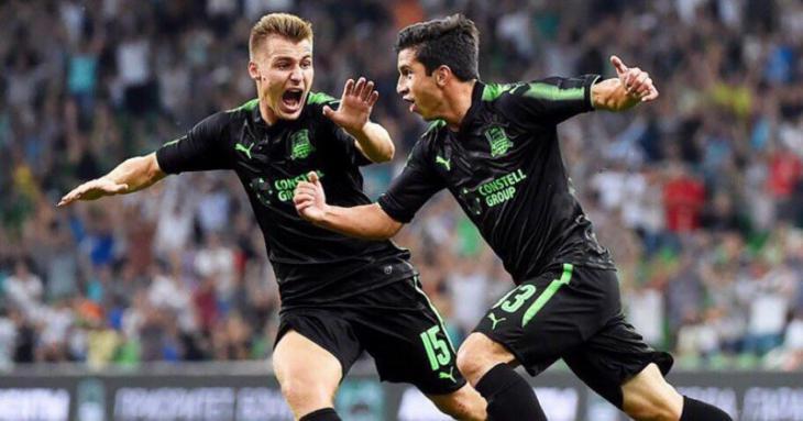 Обзор голов и лучших моментов матча Краснодар - Стандард Льеж 2:1 Лига Европы 4 тур