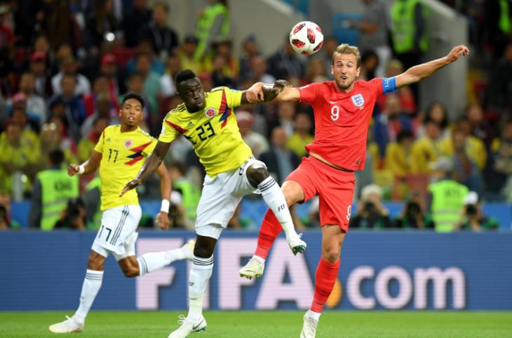 Обзор матча Колумбия - Англия