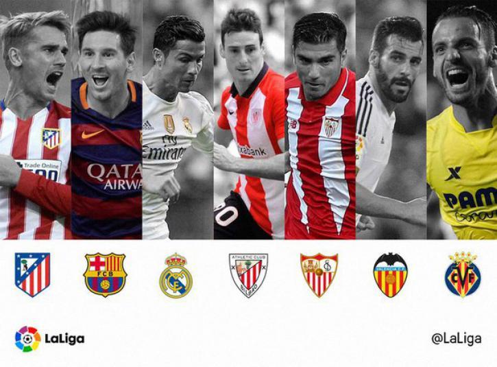 Испания лиг турнирнирные таблицы