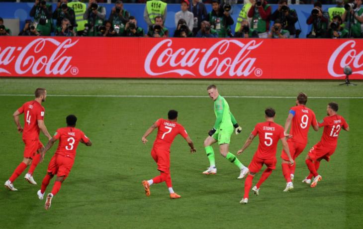 Обзор матча Колумбия - Англия, 1-1 (1-2 после с.п), 03.07.2018