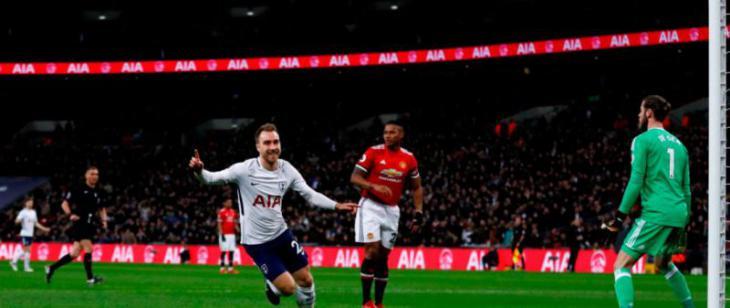 Обзор матча Манчестер Юнайтед - Тоттенхэм Хотспур, 2-1, 21.04.2018