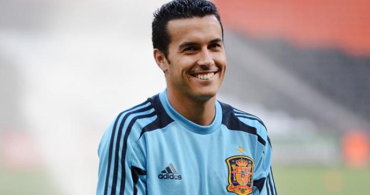 Испанский футболист педро
