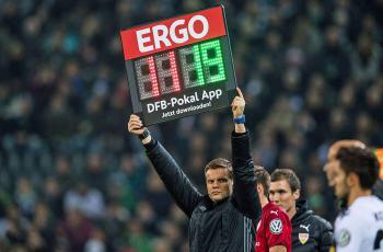В Германии в матчах Кубка клубам разрешили проводить четвертую замену