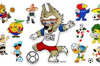 Талисманы чемпионатов мира