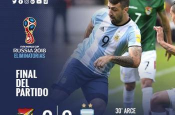 Сборная Аргентины без Месси уступает Боливии
