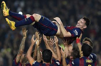 «Барселона» намерена подписать новый контракт с Месси до конца карьеры