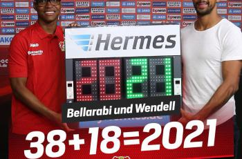 Бельараби и Венделл продлили контракты с «Байером»