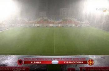 Албания – Македония. Матч будет доигран сегодня