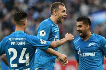 Игроки Зенита, которые впервые стали чемпионами России в сезоне 2018/2019