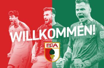Аугсбург подписал трех новичков
