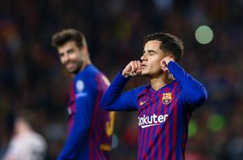 Коутиньо покинет Барселону в январе