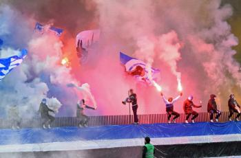 Фанаты Грассхоппера устроили беспорядки после вылета из элиты чемпионата Швейцарии