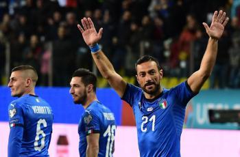 Фабио Куальярелла сборная Италии;  результаты матчей вторника на Евро-2020 2 тур 26.03.2019