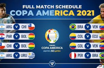 Копа Америки 2021 пройдет в Бразилии