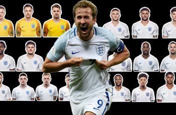 Заявка сборной Англии на Лигу Наций