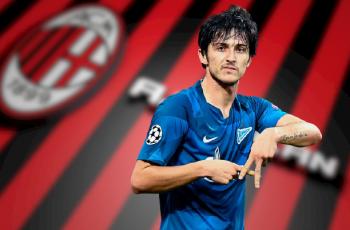 «Милан» заинтересовался нападающим «Зенита»