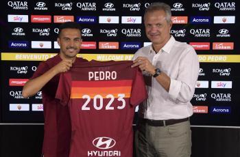 Педро перешел в Рому