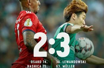 Вердер - Бавария 2:3 1/2 финала Кубка Германии 24.04.2019