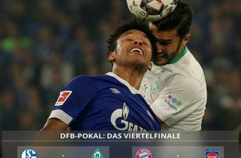 Результаты жеребьёвки 1/4 финала Deutsche Pokal - Бавария-Хайденхайм, Шальке-Вердер