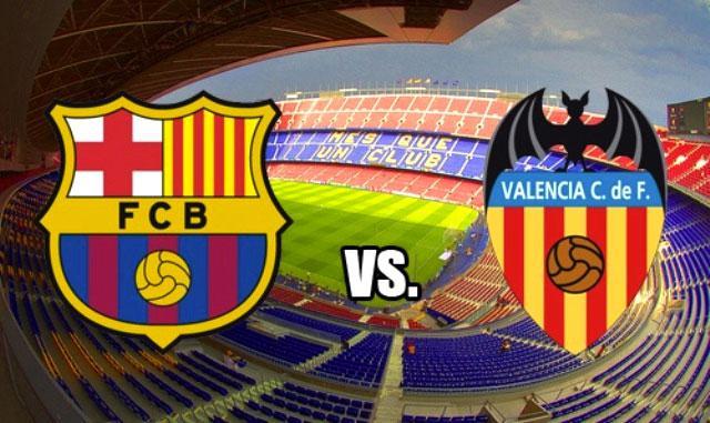 Барселона - валенсия 7-0 (3 февраля 2016 г, 1/2 финала кубка испании)