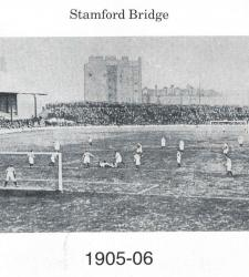 Челси на Стэмфорд Бридж в 1905 году